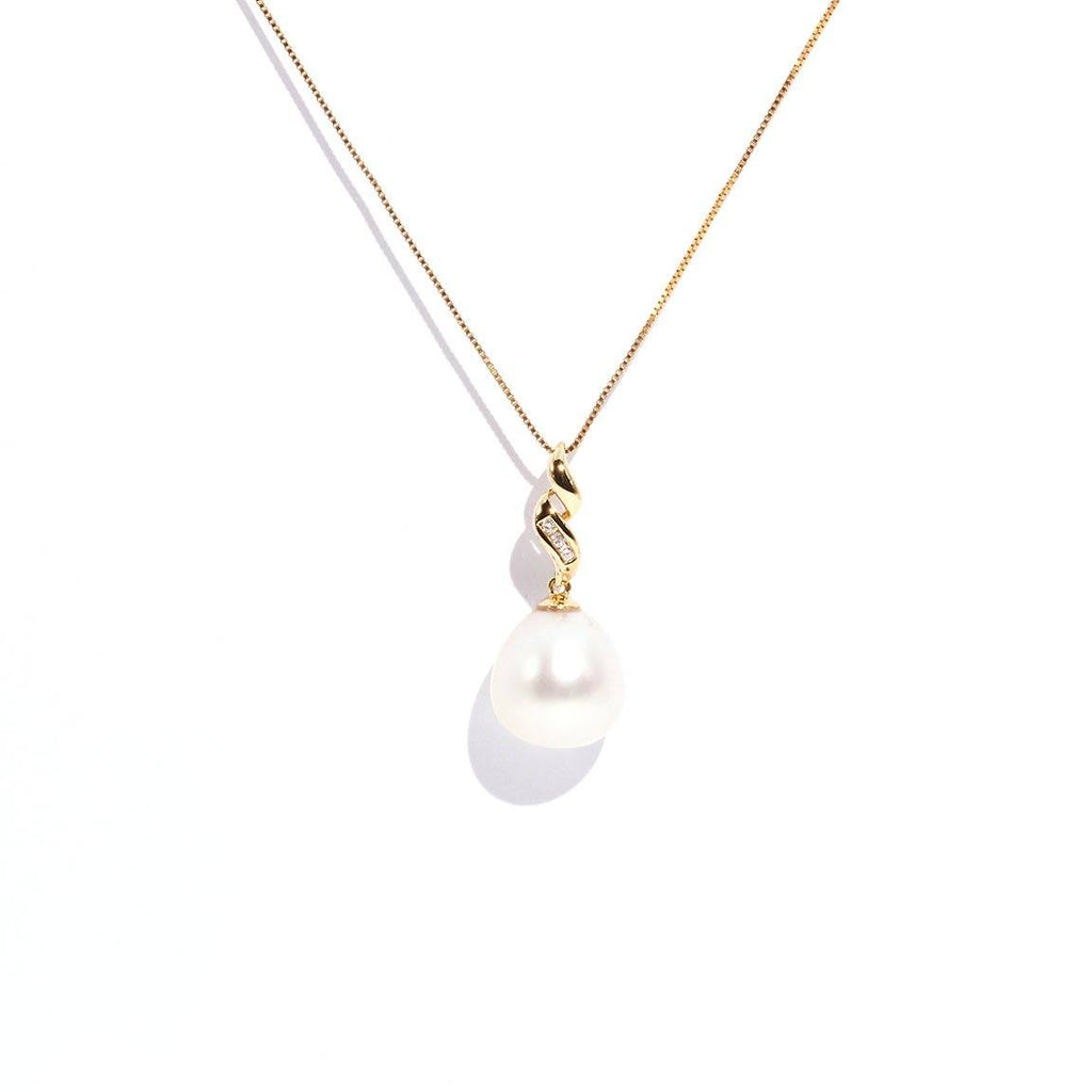 London South Sea Pearl & Diamond Pendant