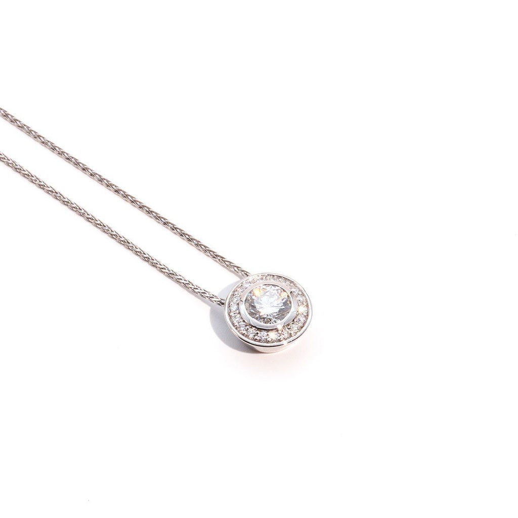 Lucia Slider Diamond Pendant