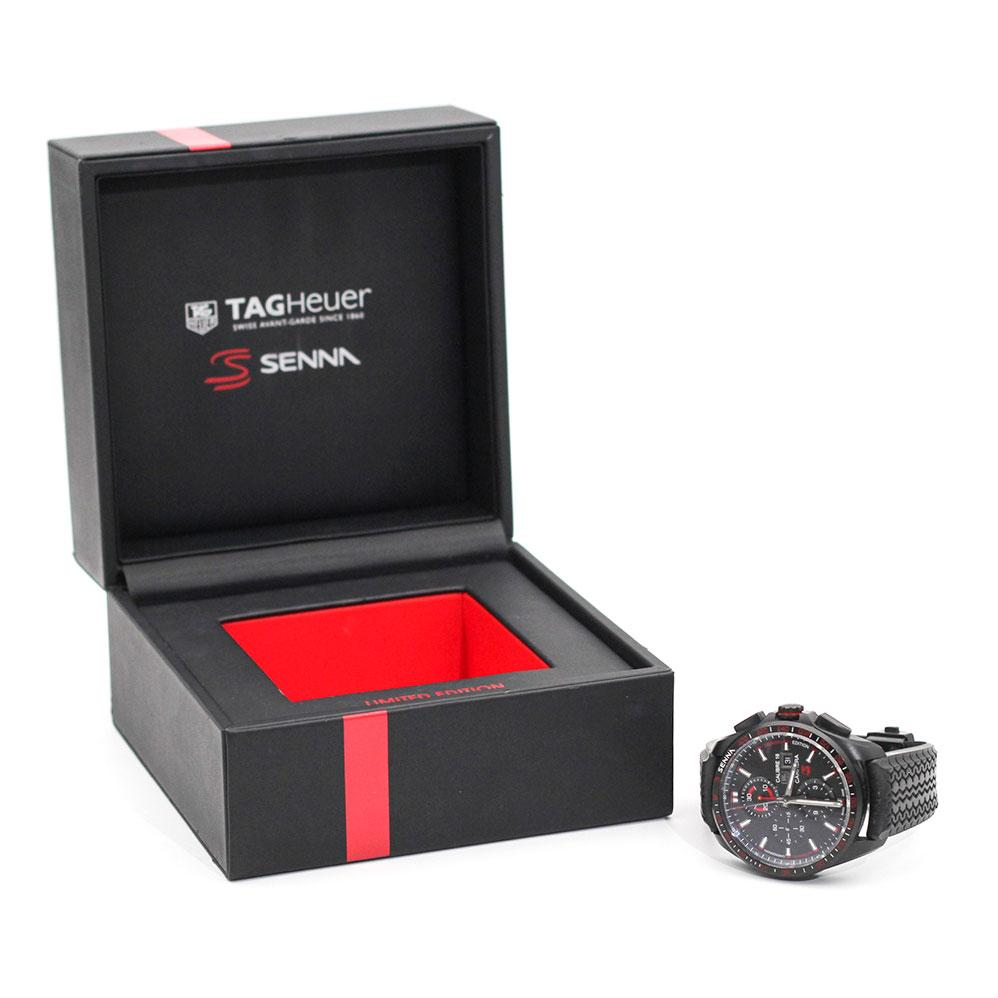 TAG Heuer Carrera Senna Limited Edition Imperial Jewellery - Auctions, Antique, Vintage & Estate