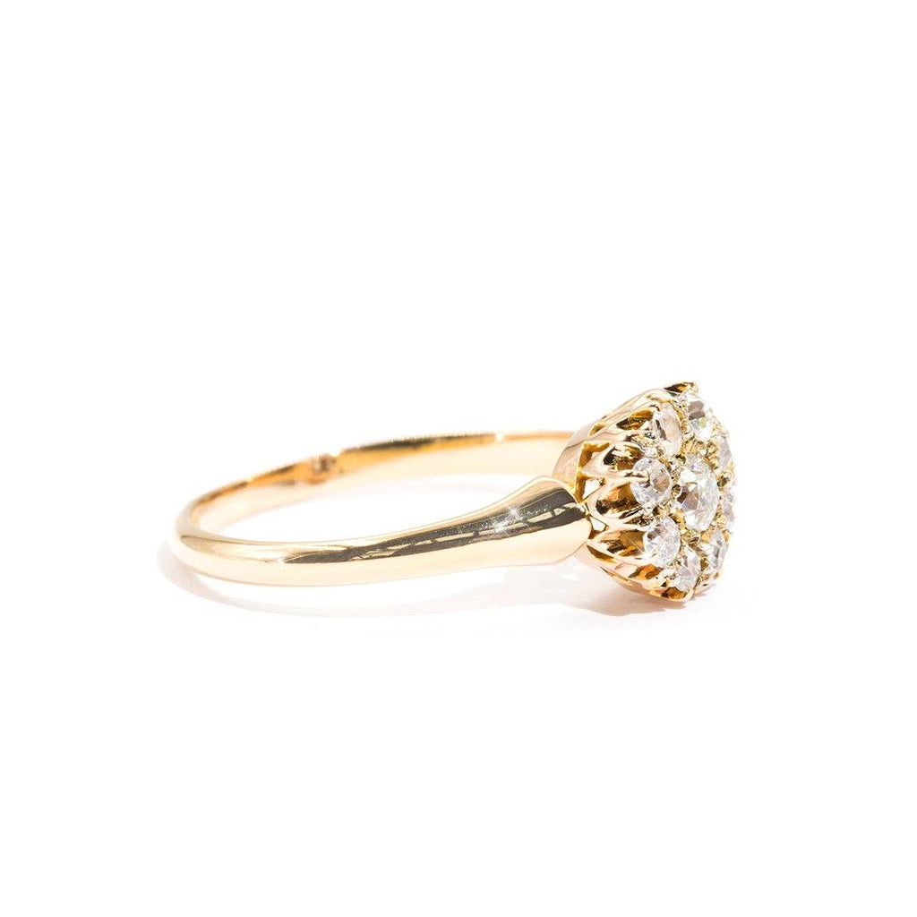 Vintage-Diamond-Cluster-Ring-Samantha-IJ-0321-462 Imperial Jewellery - Auctions, Antique, Vintage & Estate