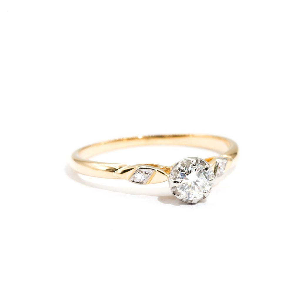 Vintage-Diamond-Engagement-Ring-Bertha-IJ-0321-464 Imperial Jewellery - Auctions, Antique, Vintage & Estate