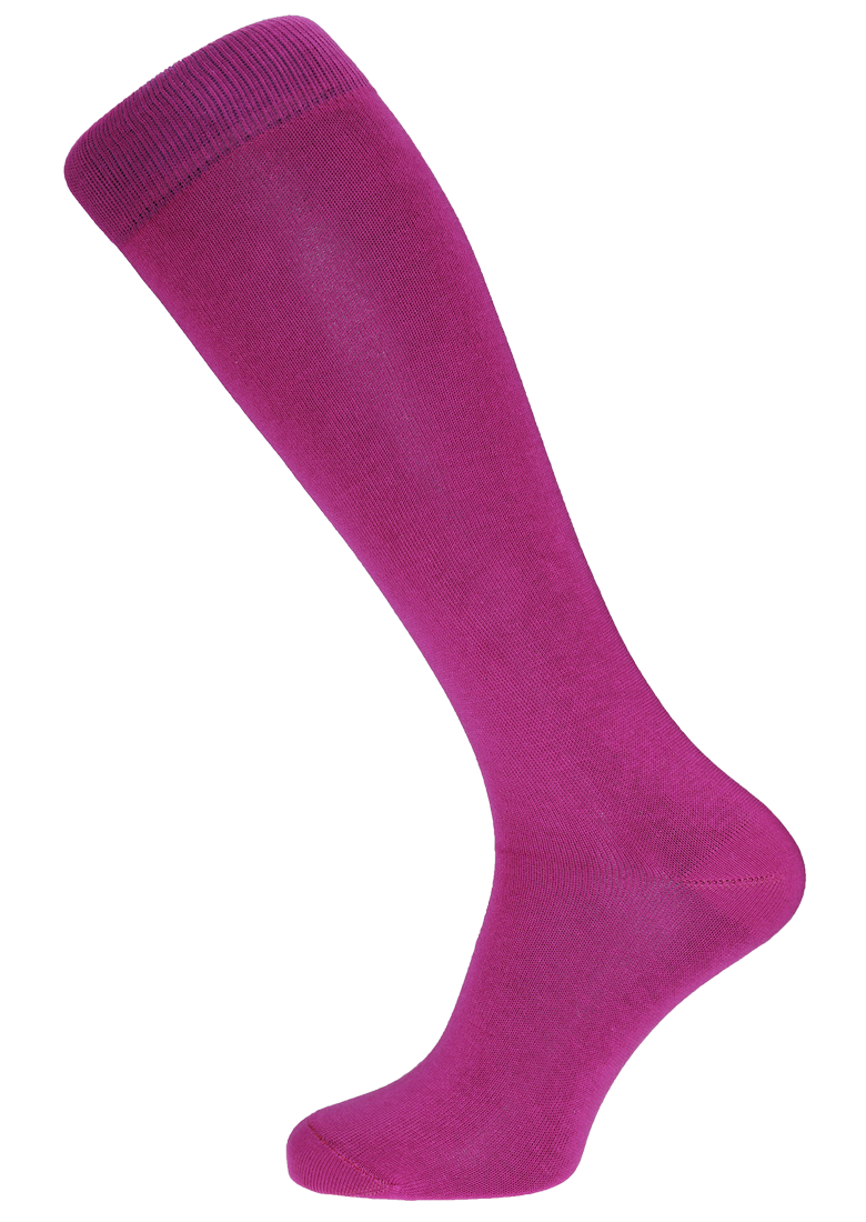 Horizon Fuchsia Long Dress Sock