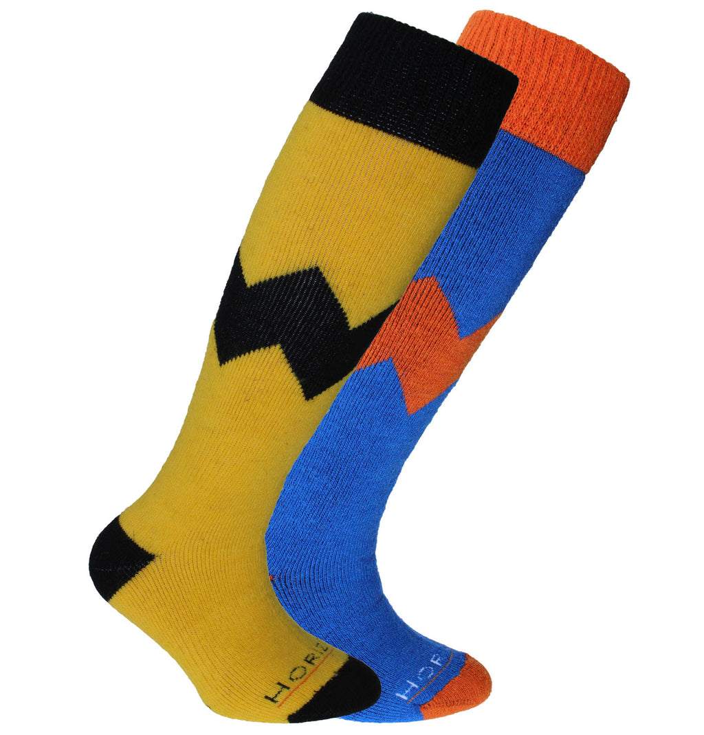 Horizon Alpine Kid's 2pk Merino Ski Sock