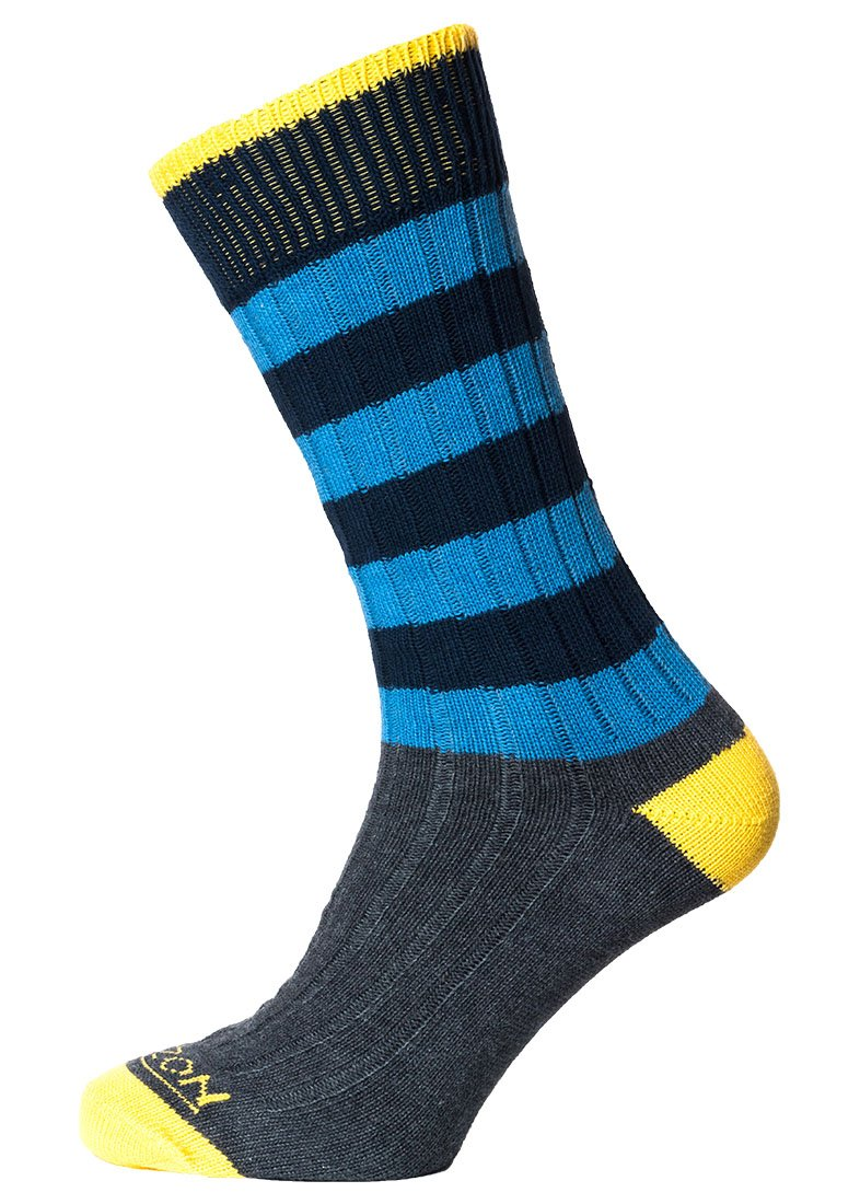 Horizon Leisure Lifestyle Men's Cotton Sock