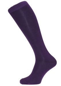 Horizon Purple Long Dress Sock
