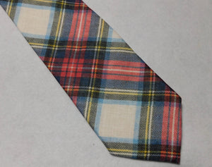 67518 Italian Linen Bellinzona Privileged Tartan