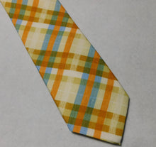Load image into Gallery viewer, 67519 Italian Silk/Cotton Bellinzona  Plaid