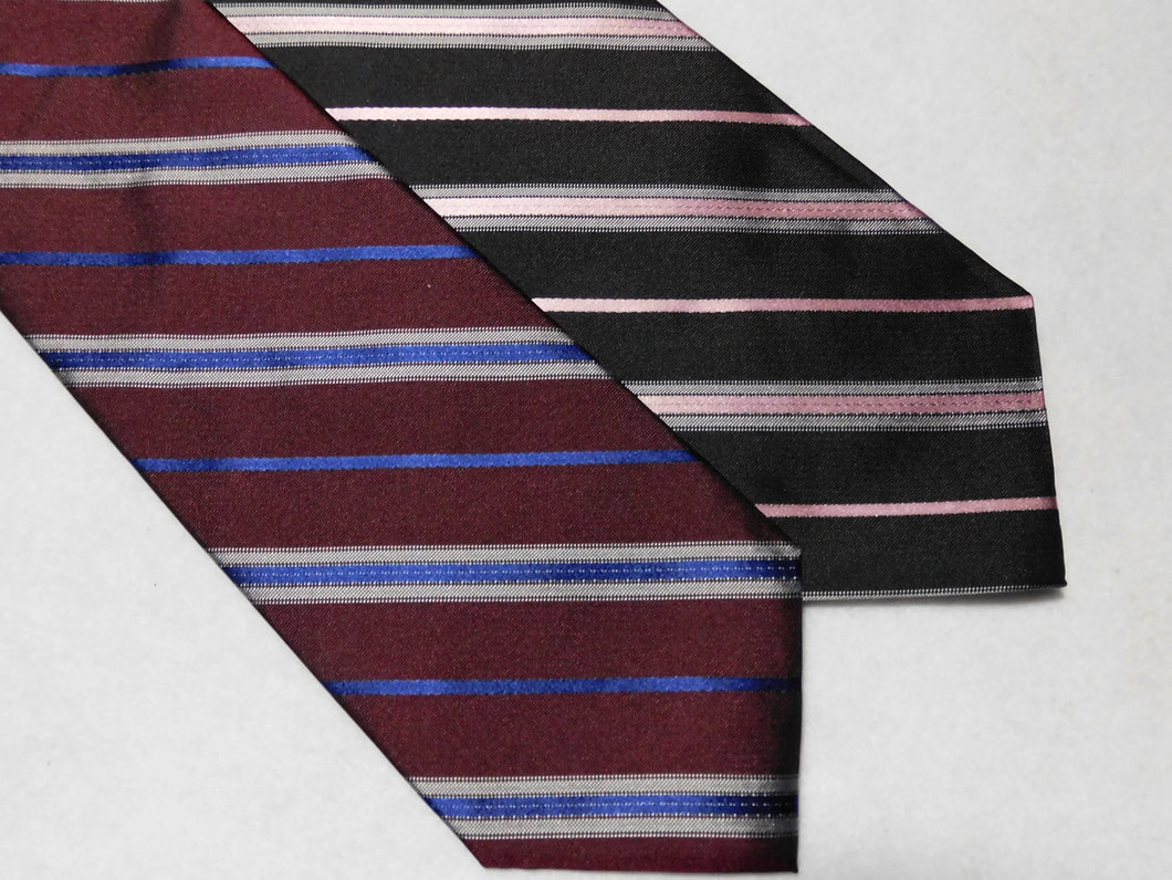 67606 Bellinzona Privileged English Woven Silk Repp Stripe