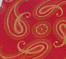 Load image into Gallery viewer, 5496 Bellinzona Italian Woven Silk Paisley