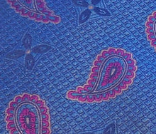 Load image into Gallery viewer, 5501 Bellinzona Woven Silk Paisley