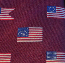Load image into Gallery viewer, 5489 Woven Silk American Flag '76