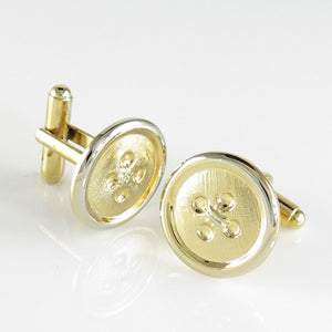 C87 Goldtone Buttons