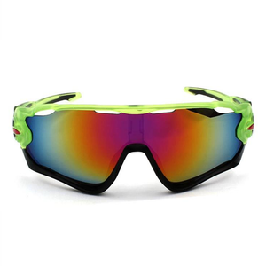 Lime Orange Anti-UV Polarized Sunglasses