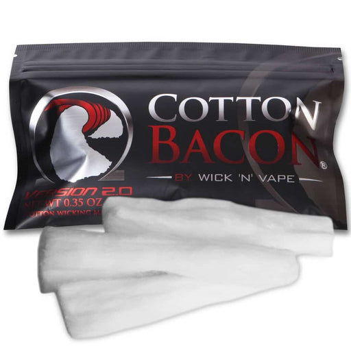 WICK 'N' VAPE ORGANIC COTTON BACON V2 - Vapers Dubai