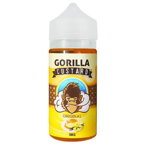 ORIGINAL BY GORILLA CUSTARD ELIQUID - Vapers Dubai