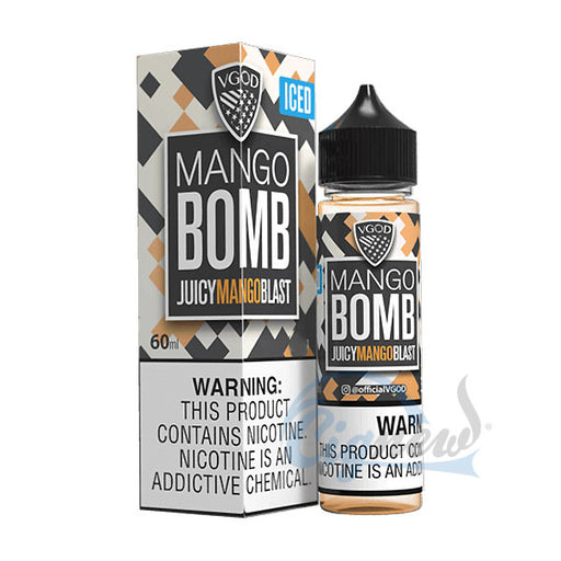 ICED MANGO BOMB BY VGOD E-LIQUID 60ML - Vapers Dubai