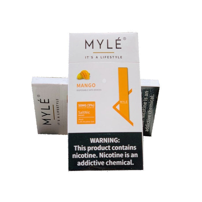 MYLE NEW DISPOSABLE VAPE DEVICE - Vapers Dubai