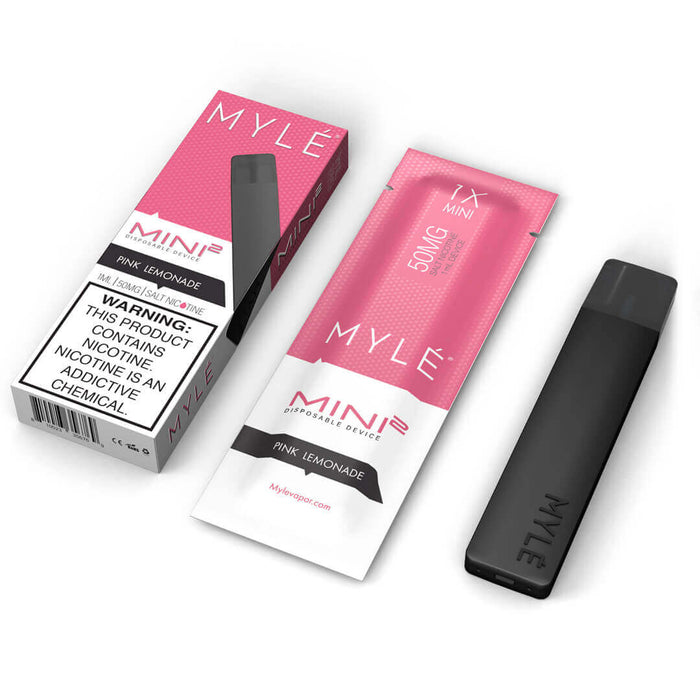 MYLE MINI 2 PINK LEMONADE - Vapers Dubai