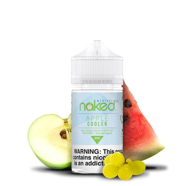 APPLE COOLER - NAKED 100 E-LIQUID - 60ML - Vapers Dubai