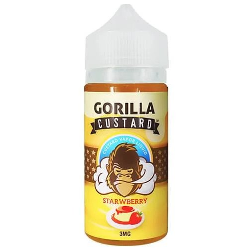 STRAWBERRY BY GORILLA CUSTARD ELIQUID - Vapers Dubai