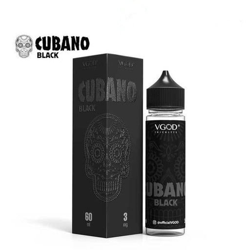 CUBANO BLACK - VGOD - 60ML - Vapers Dubai
