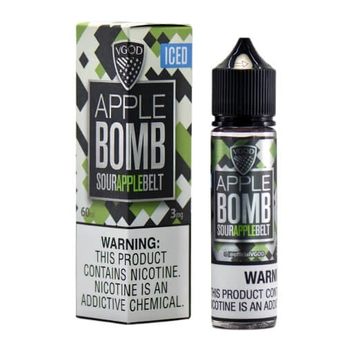 ICED APPLE BOMB BY VGOD E-LIQUID 60ML - Vapers Dubai