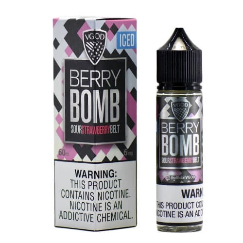 ICED BERRY BOMB BY VGOD E-LIQUID 60ML - Vapers Dubai