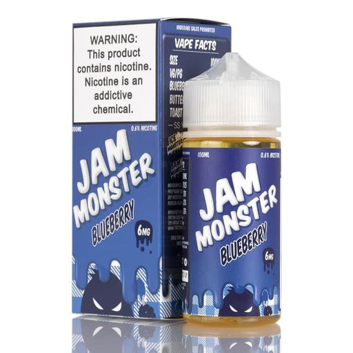 BLUEBERRY - JAM MONSTER LIQUIDS - 100ML - Vapers Dubai