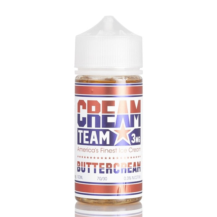 BUTTERCREAM - CREAM TEAM E-LIQUID - 100ML - Vapers Dubai