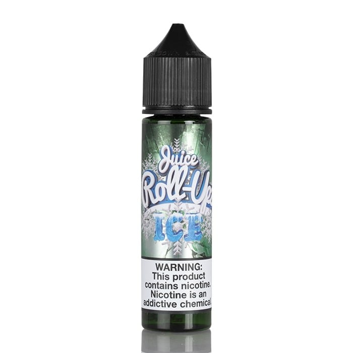 GREEN APPLE ICE - JUICE ROLL-UPZ E-LIQUID - 60ML - Vapers Dubai