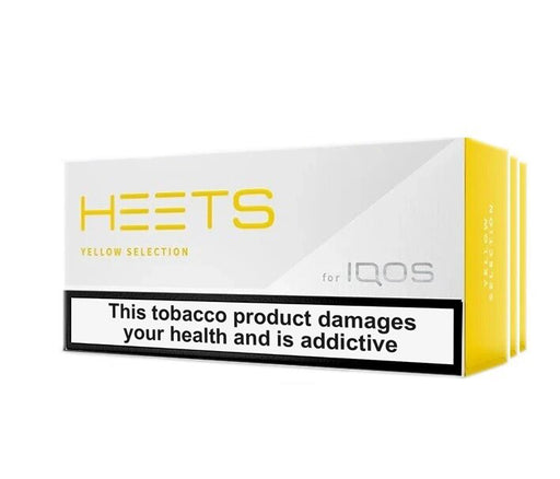 BEST IQOS HEETS DUBAI YELLOW SELECTION (10pack) - Vapers Dubai