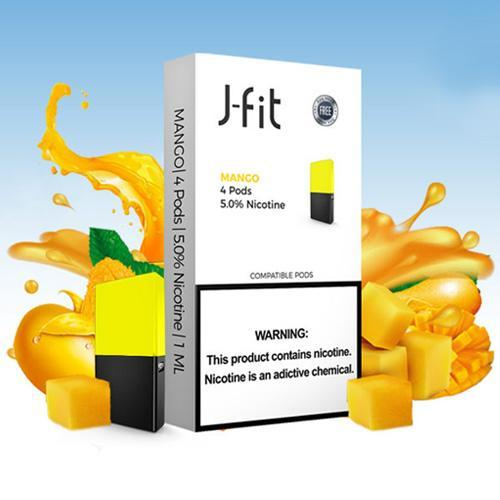 J-FIT PODS COMPATIBLE WITH JUUL - Vapers Dubai