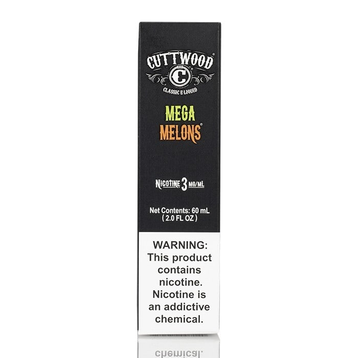 MEGA MELONS - CUTTWOOD E-LIQUID - 60ML - Vapers Dubai