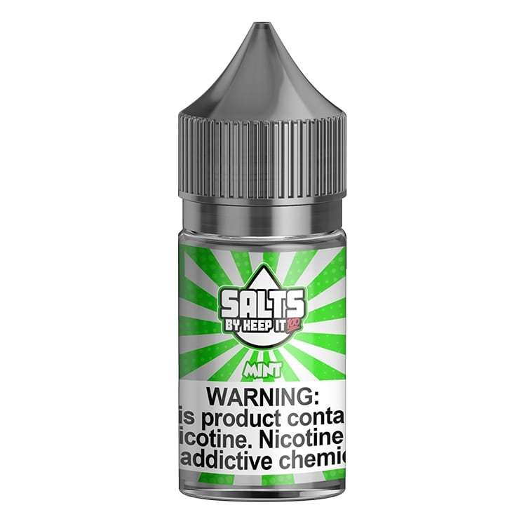 MINT – KEEP IT 100 SALTS – 30ML - Vapers Dubai