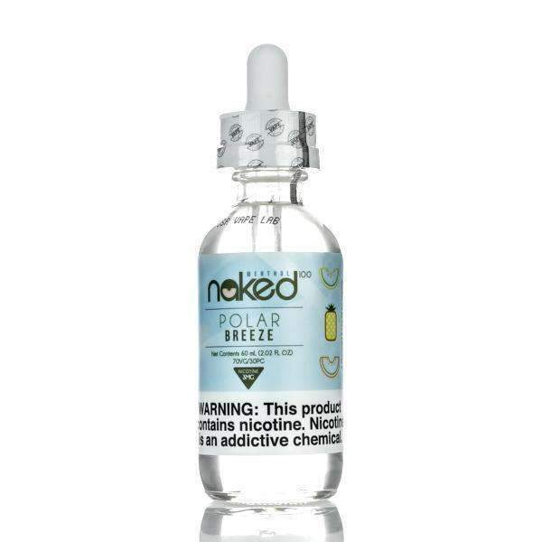 POLAR BREEZE - NAKED 100 - 60ML - Vapers Dubai