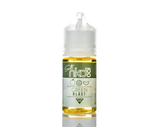 GREEN BLAST - NKD 100 SALT E-LIQUID - 30ML - Vapers Dubai
