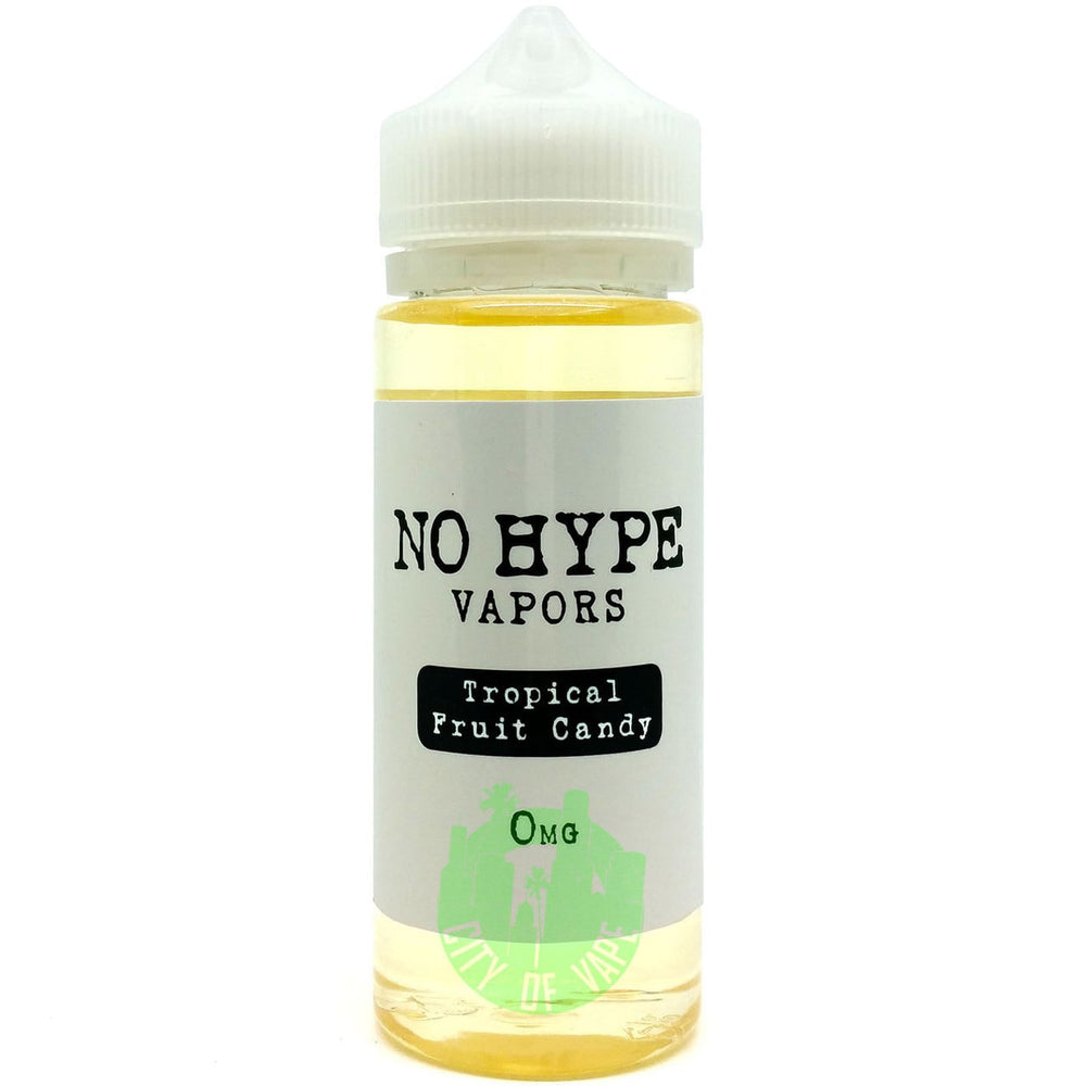 TROPICAL FRUIT CANDY BY NO HYPE VAPORS 120ML - Vapers Dubai