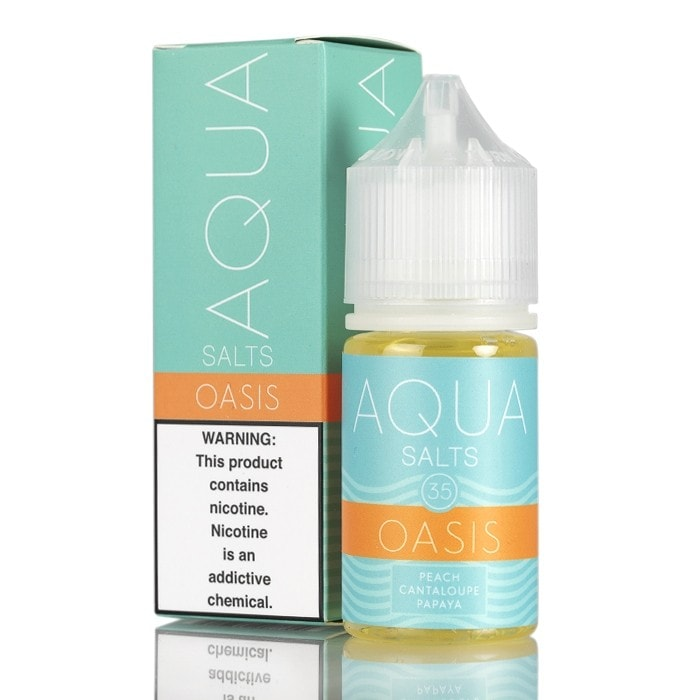 OASIS - AQUA SALTS E-LIQUID - 30ML - Vapers Dubai