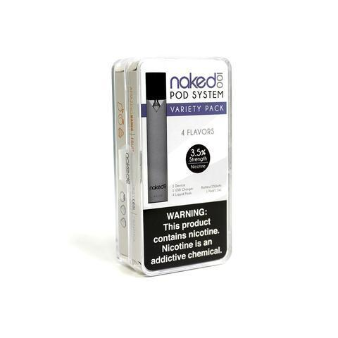 Naked 100 Pod System Starter Kit with pod - Vapers Dubai