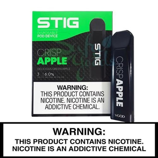 VGOD STIG CRISP APPLE IN DUBAI (3PCS) - Vapers Dubai