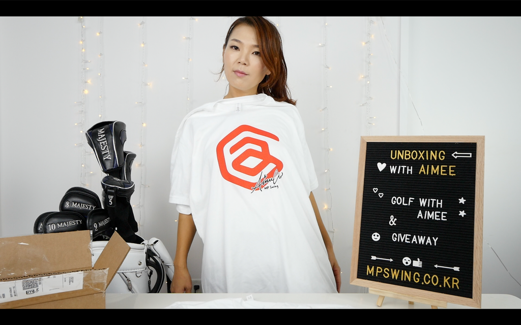 Golf with Aimee Logo T-shirts