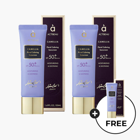 ACTIBEAU Floral Calming Sunscreen | BUY 2 GET 1 FREE
