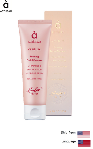 ACTIBEAU Camellia Foaming Facial Cleanser