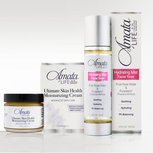 Ultimate Skin Health Moisturizing Cream & Hydrating Toner Value Package