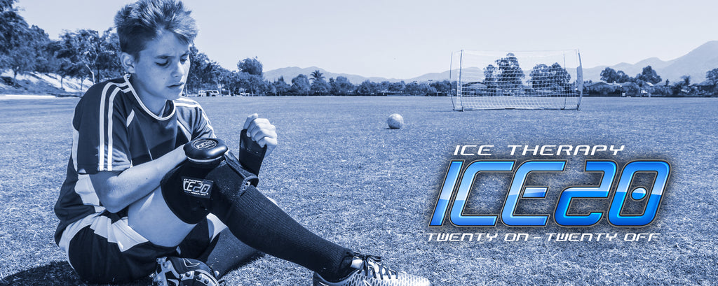 Ice 20 for soccer injury