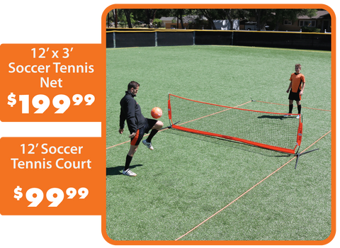 portable soccer tennis and barrier net