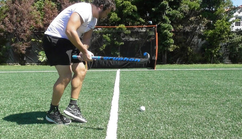 Pablo Menodoza How to hit field hockey