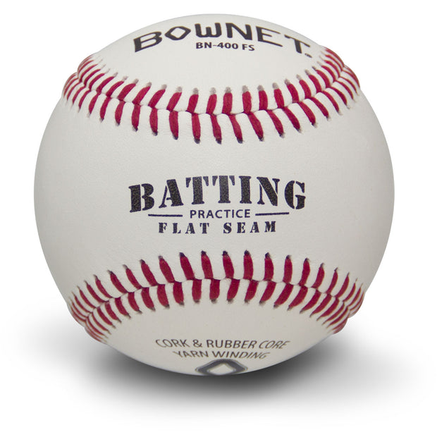 Flat Seam Batting Practice Ball (BN-400 FS)