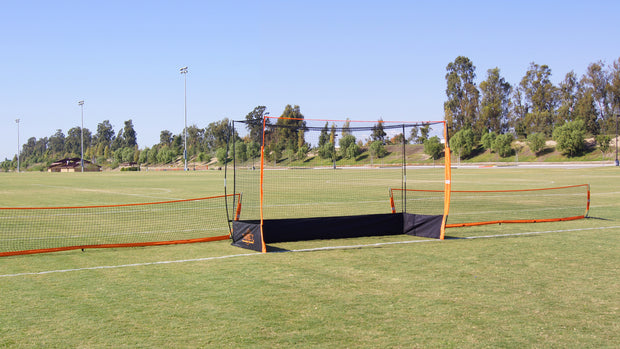 18'  Field Barrier, Soccer Tennis, Tennis Net and Court