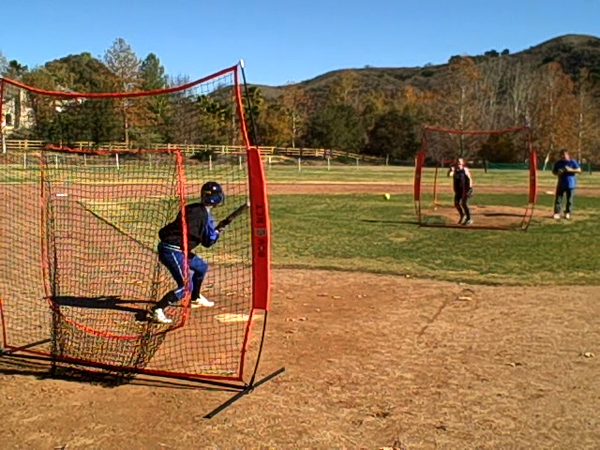 Bownet 7' x 7' Pitch Thru Screen for Softball